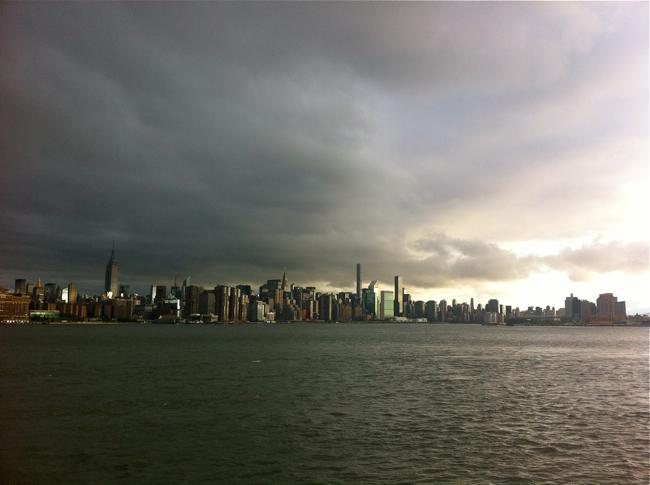 NYC Sunrise / Рассвет в Нью-Йорке