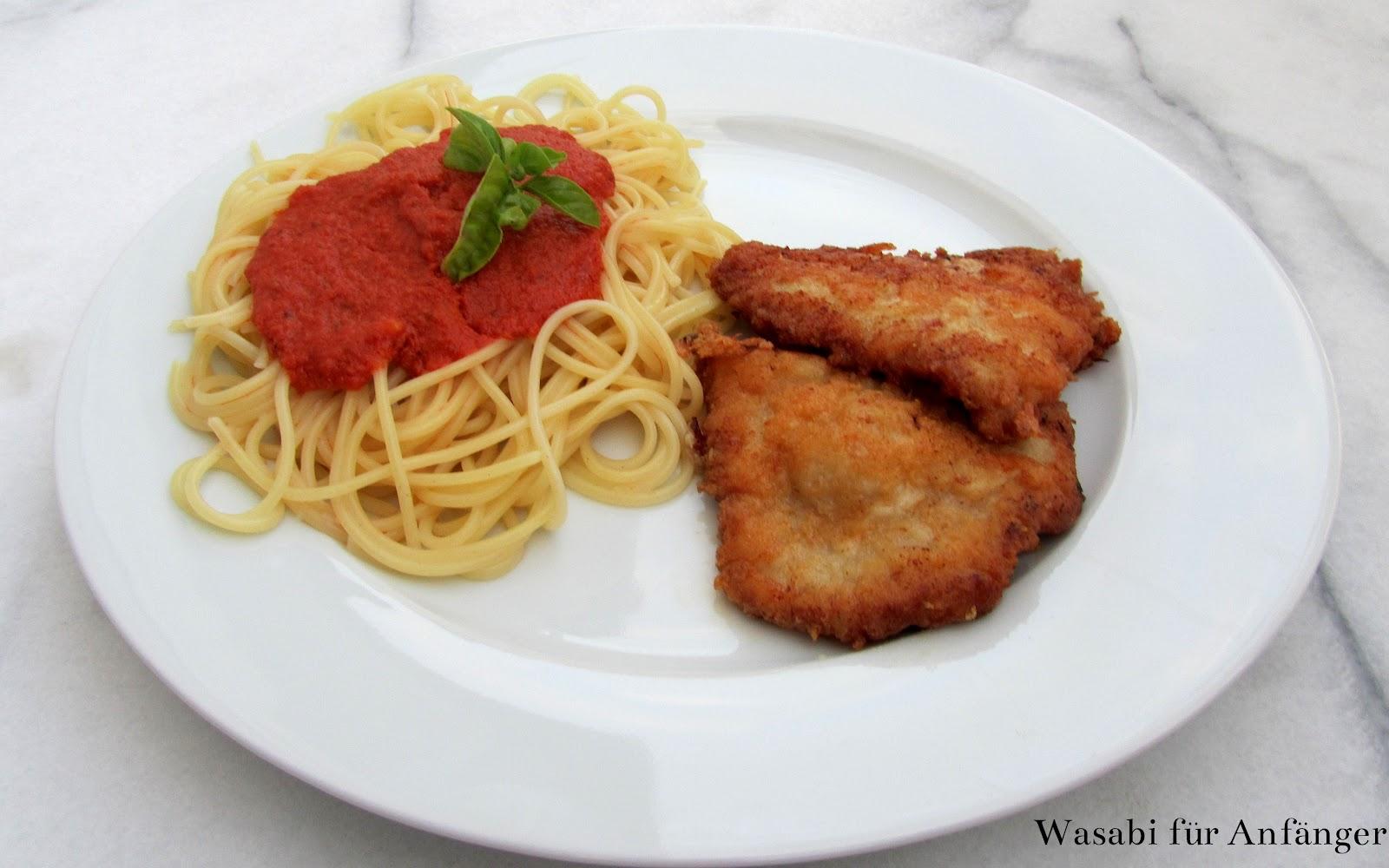 Wasabi für Anfänger: Piccata alla Milanese - Schnitzel vom Kalb nach ...