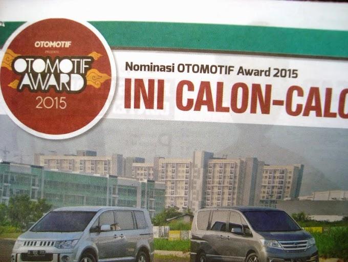 Nominasi OTOMOTIF Award 2015 - Banyak Euy!