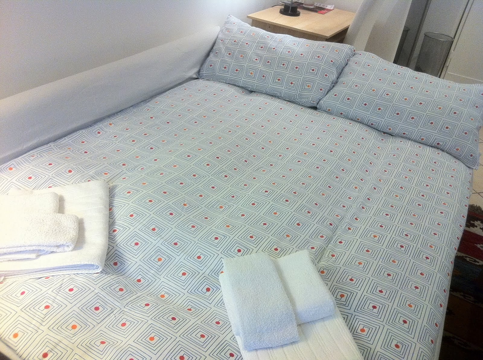 soggiorno con divano letto matrimoniale 2