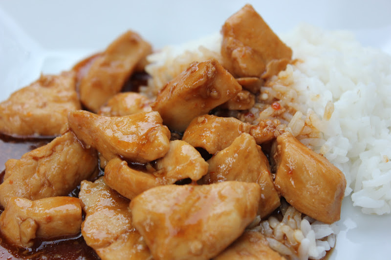 THE BUSY MOM CAFE: Chinese-Style Bourbon Chicken