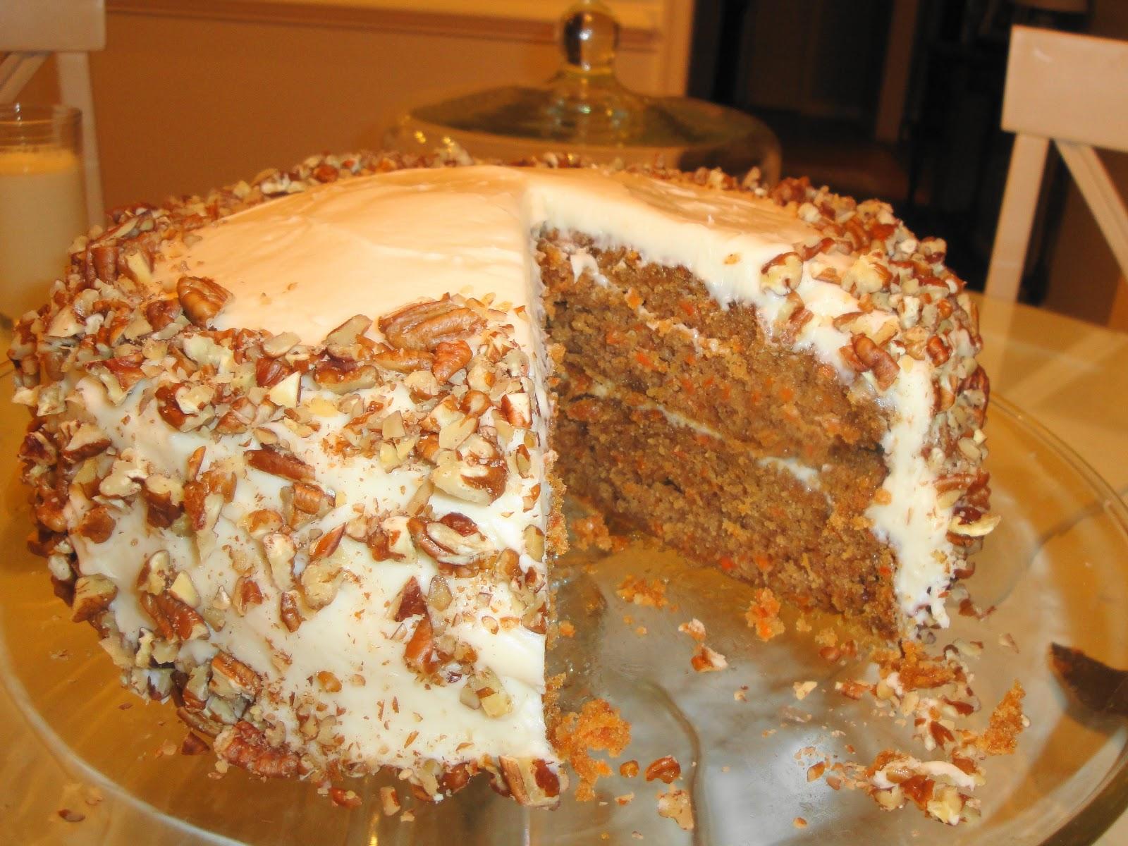 On Sheas Table Homemade Carrot Cake
