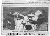 La Voz de Galicia, lunes 5 de julio de 1982: