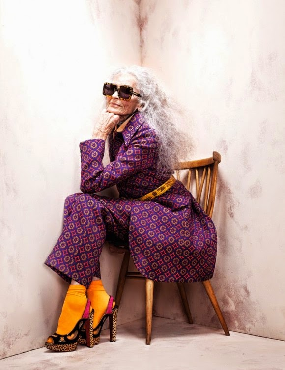 Gaya Rambut Nenek
