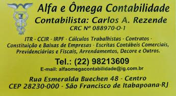 RUA ESMERALDA BUÉCHEN SÃO FRANCISCO DE ITABAPOANA RJ