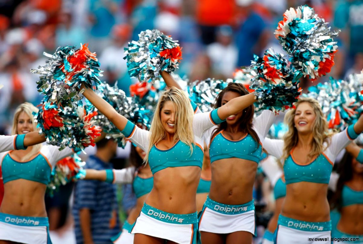 Miami Dolphins Cheerleader Hottest Nfl Wallpaper
