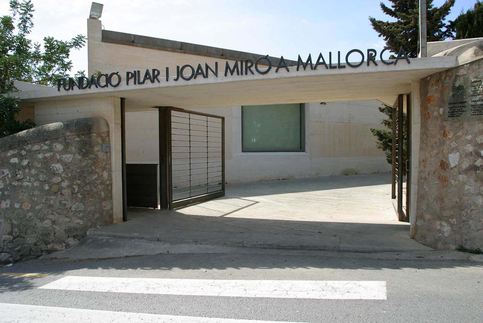 Meandros y Poliedros: Fundació PIlar i Joan Miró a Mallorca