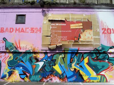 Kongo graffiti