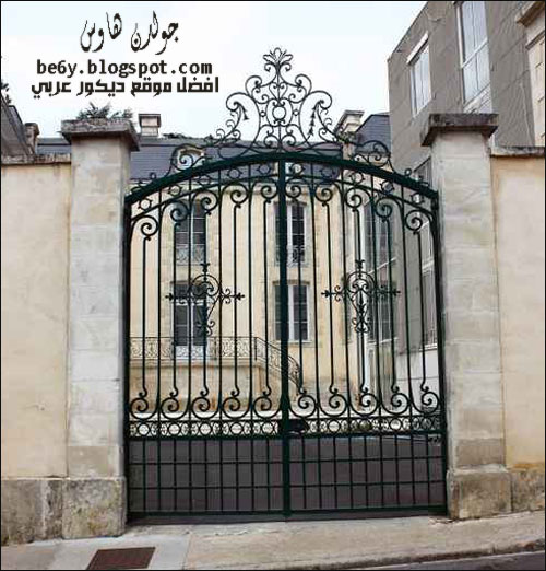ابواب وشبابيك حديد http://be6y.blogspot.com/2012/09/gate-home.html