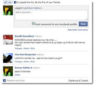 Cara Membuat Komentar Facebook di Blog,komentar facebook blogger,komentar fb di blog