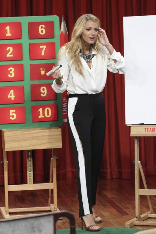 Blake Lively's Fun-Filled 'Late Night with Jimmy Fallon' Visit » Gossip