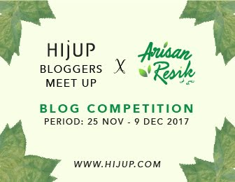 Hijup X Arisan Resik Blog Competition