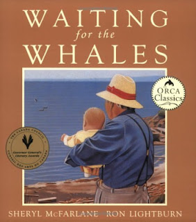 WAITING FOR THE WHALES - Picture book