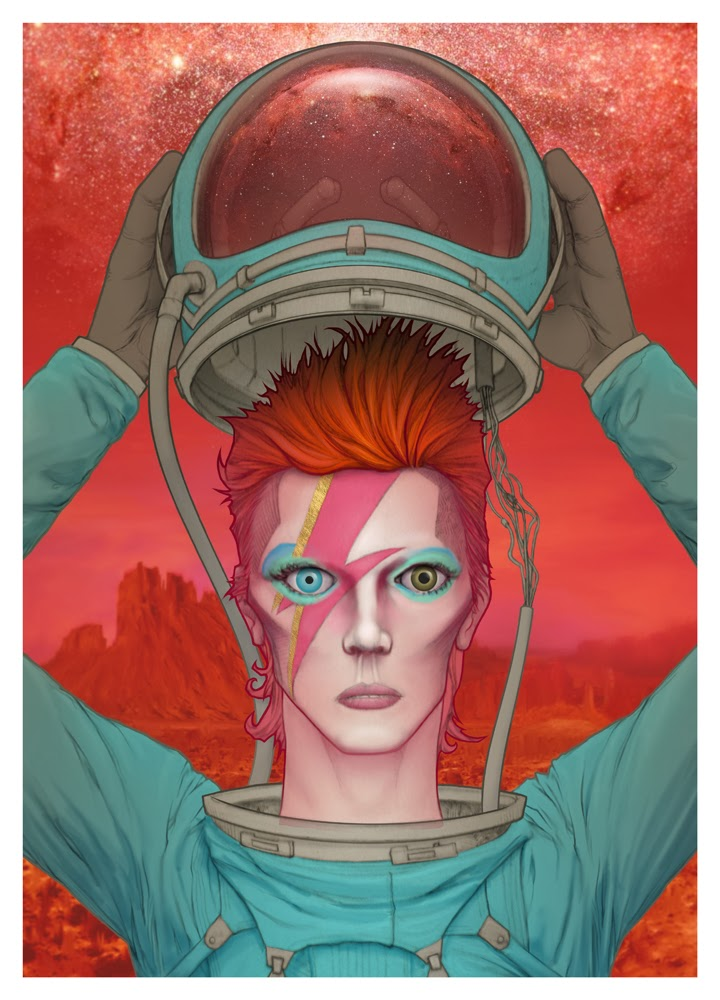 David Bowie - Ziggy Art