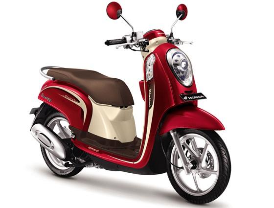 Spesifikasi dan Harga New Honda Scoopy FI 2013