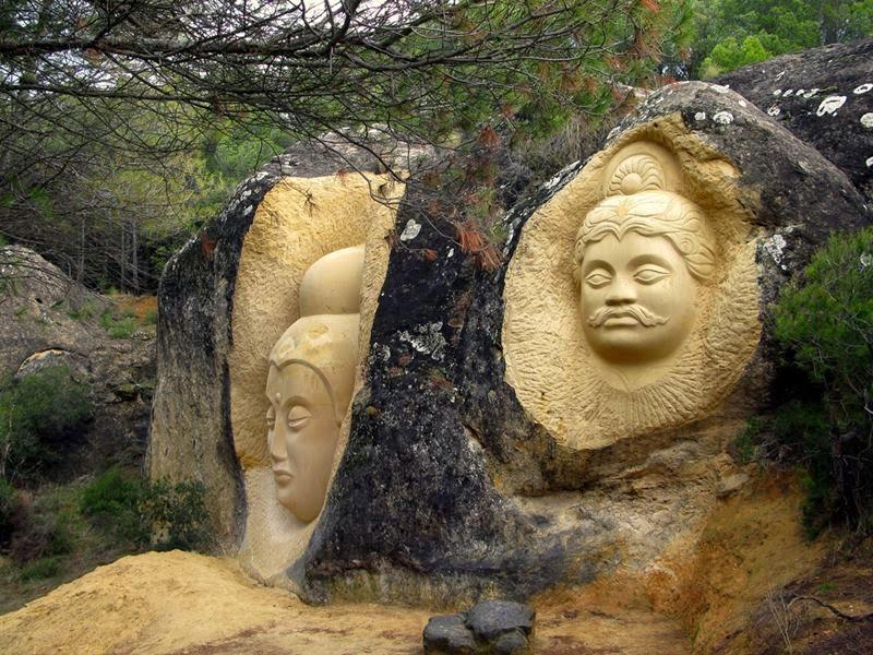 Maitreya and Arjuna