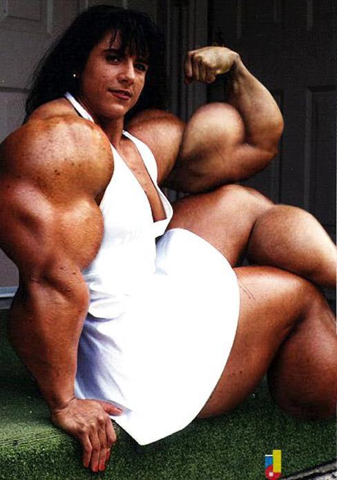 Huge Fbb Muscles http://bodybuildingkaro.blogspot.com/2011/03/tina-lockwood-female-muscle-morph.html