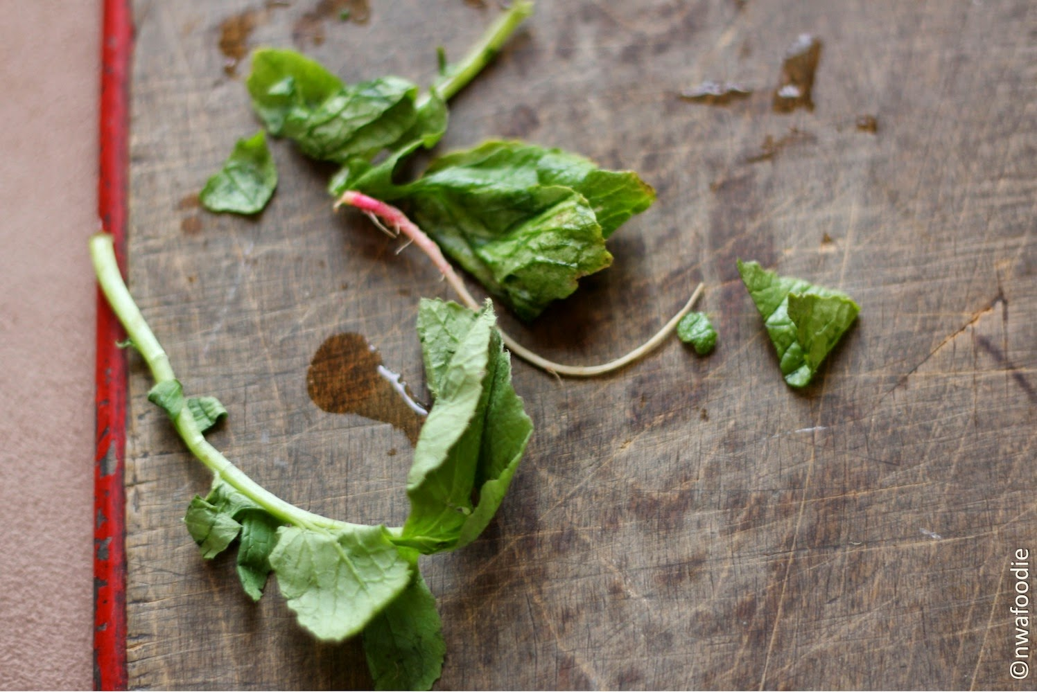 radish greens (c)nwafoodie