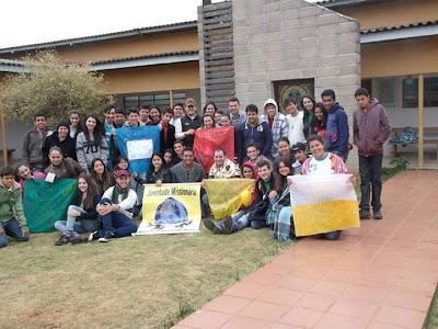 Líderes da Juventude Missionária da Diocese de Umuarama realizam formação