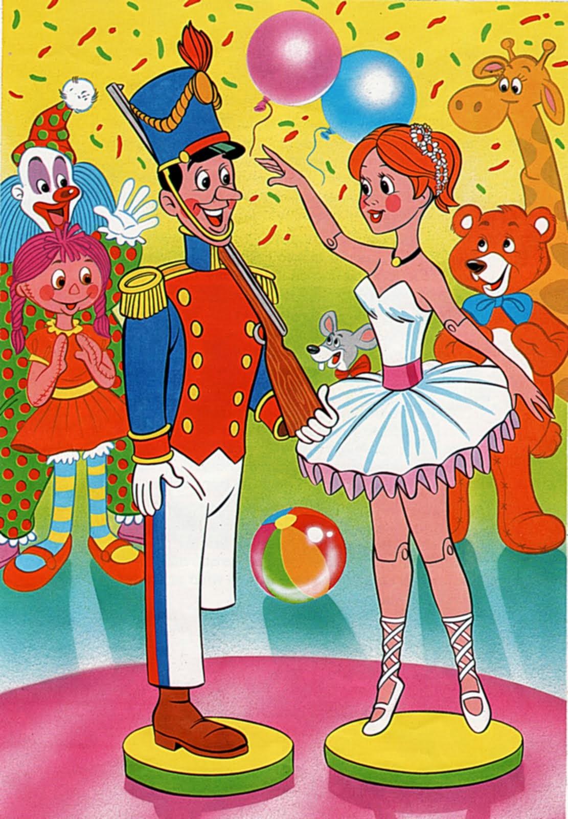 El Soldadito de Plomo y la Bailarina