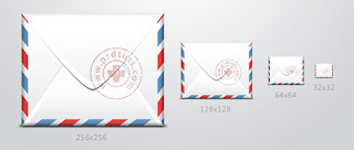 Make an envelope icon in Photoshop