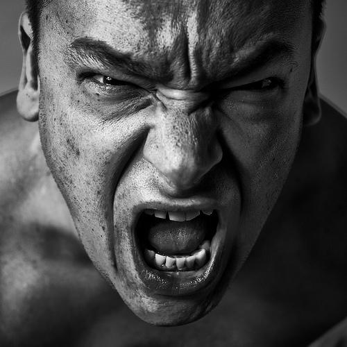Foto di persone arrabbiate 51