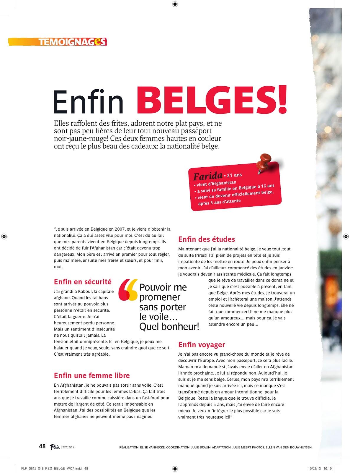 julie meert - journaliste   u0026quot enfin belges u0026quot   02  2012  traduction
