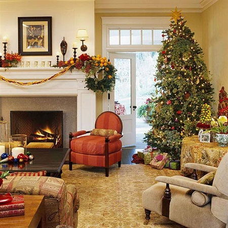 Country living room decorating ideas living room for Decorated living rooms photos