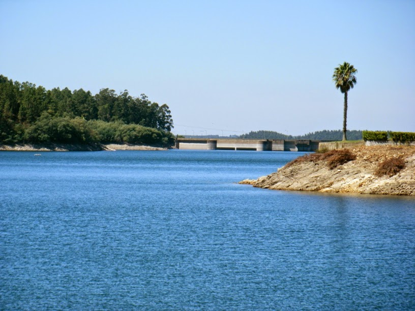 Água da barragem de Castelo de Bode
