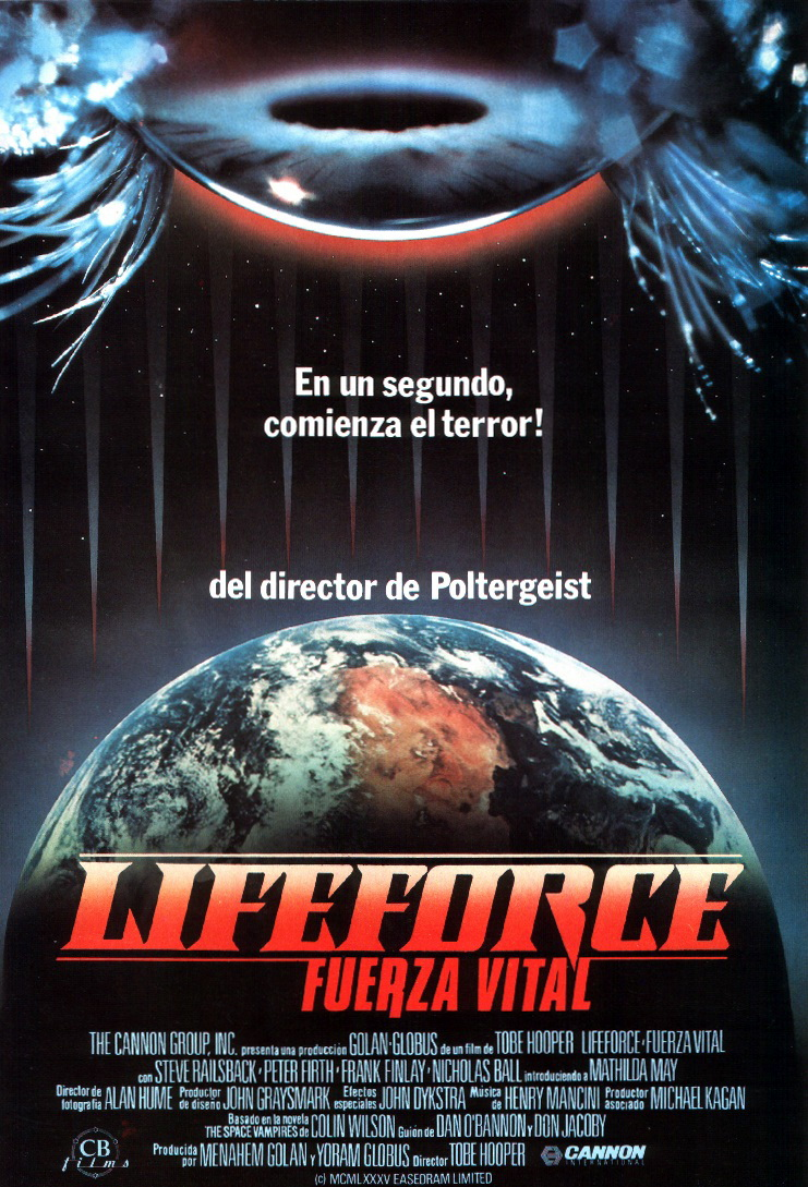 Lifeforce, fuerza vital (1985)