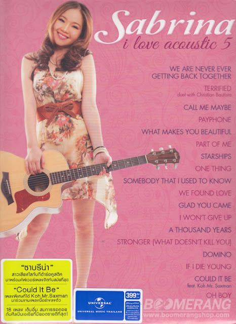 Download Sabrina – I Love Acoustic 5 (2013) 256Kbps ThaicyBerupload 4shared By Pleng-mun.com