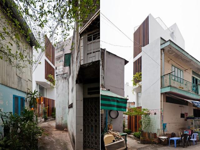 nhà lẻ nhà phố Sài Gòn