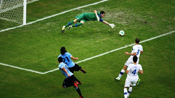 CONFEDERATIONS CUP - URUGUAY VS ITALY