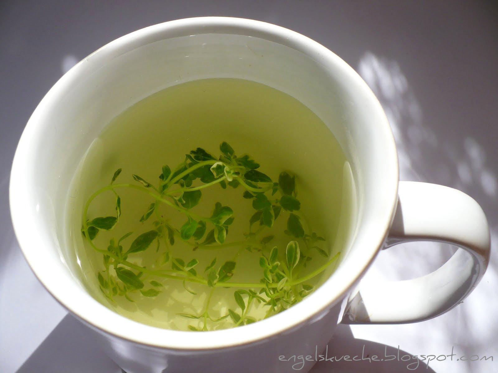 Essen aus Engelchens Küche: Zitronenthymian-Tee