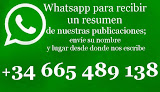 Reciba por Whatsapp un resumen de nuestras publicaciones