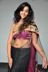 Anu Priya Hot Navel Show Pics in Transparent Saree