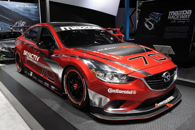 Mazda6 Skyactiv-D Racecar ready to bring diesel to Grand-Am
