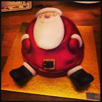 Father Christmas cake...mmm
