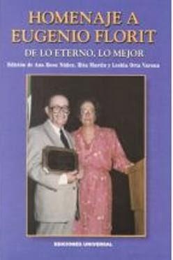 Edición Homenaje Eugenio Florit
