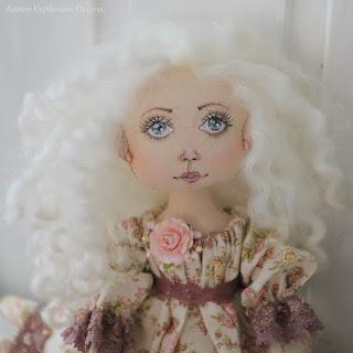 интерьерная авторская кукла ручной работы купить подарить продается