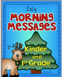 Morning Messages: Kindergarten & 1st