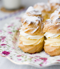 how to make cream puffs recipe