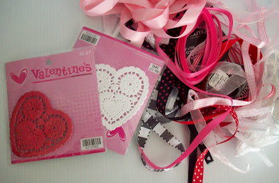 heart+swag+supplies Valentines Day Craft | Valentines Heart Swag