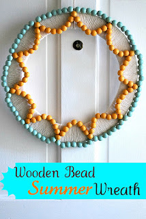 Wreaths Made with Beads