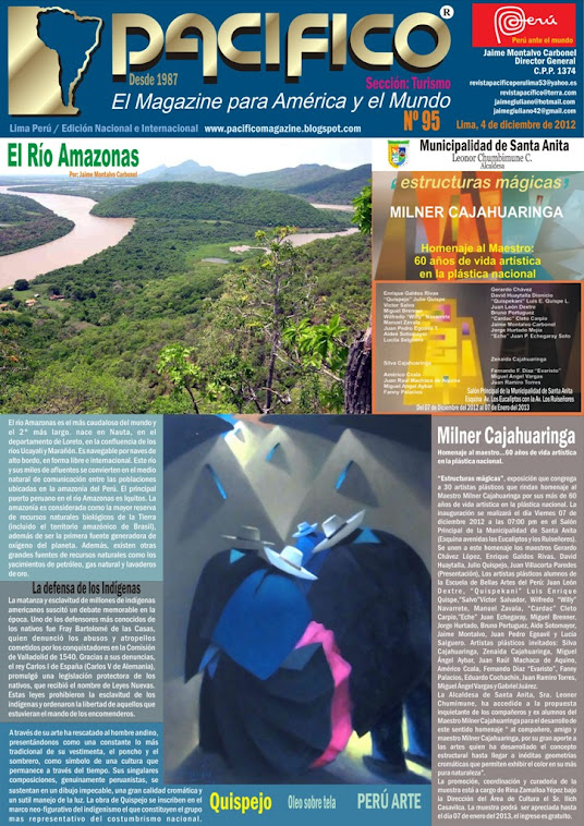 Revista Pacífico Nº 95 Turismo
