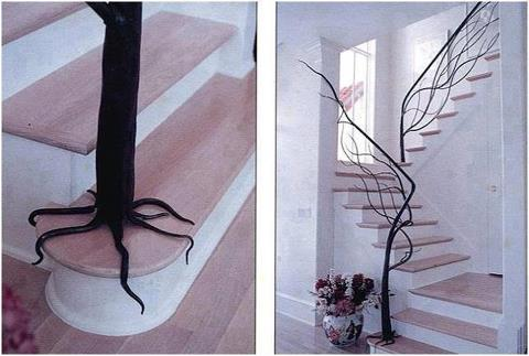 Tree on Staircase