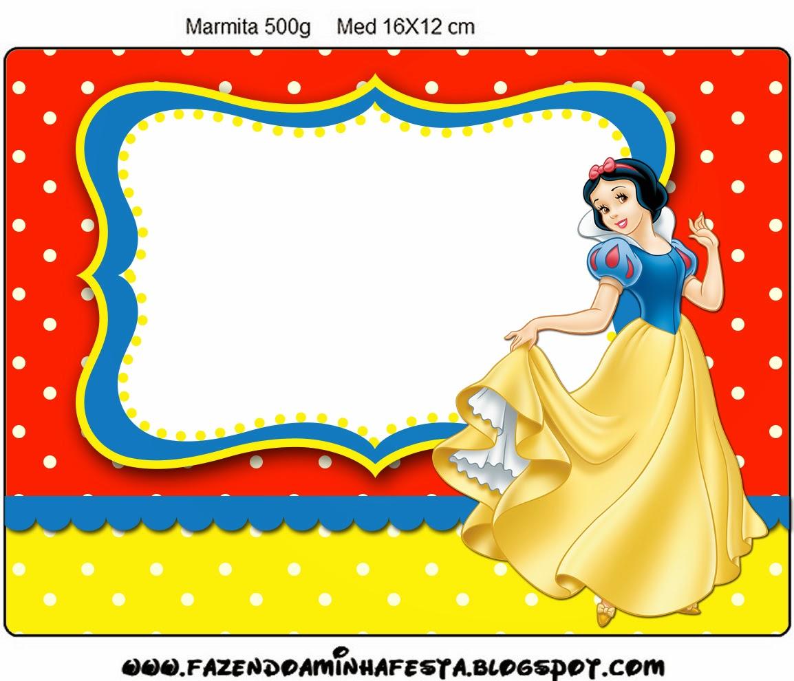 Free Printable Snow White Invitations | Printable Invitations