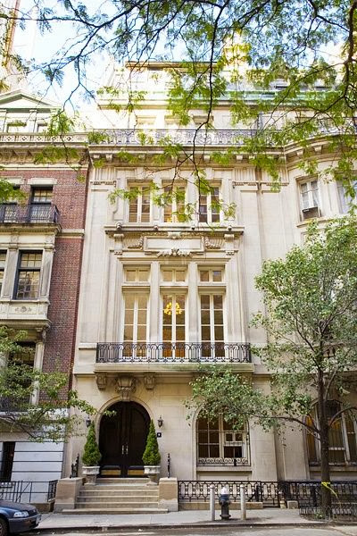 Ooh la frou frou a little upper east side for your gifts for Nyc townhouse with garage