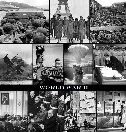 a description of world war ii which brought great political and social changes in us The postwar economy: 1945-1960 as the cold war unfolded in the decade and a half after world war ii,  the war brought the return of prosperity,.