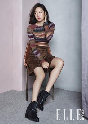 Gong Hyo Jin - Elle October 2015